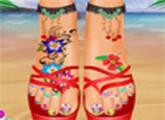 لعبة شاطئ الكمال صالون العناية بالأقدام اون لاين