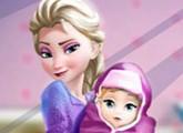 لعبة إلسا والطفل المولود الجديد