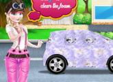 لعبة إلسا يتوهم السيارات