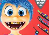لعبة مشكلة الداخل الى الخارج: الفرح الأسنان