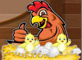 لعبة الدجاجة والصيصانات للاطفال