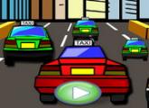 لعبة المتسابقين و سيارات الأجرة