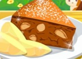 لعبة طبخ كيكة التفاح والقرفة