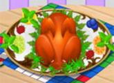 لعبة تحضير غداء بعيد الشكر تركيا