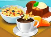 لعبة حليب الحبوب والحلوى