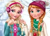 لعبة إلسا وآنا اتجاهات الشتاء للبنات
