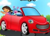 لعبة تنظيف سيارة دورا الفاخرة الجديدة