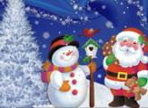 لعبة عيد الميلاد بانوراما الألغاز2015