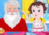 لعبة طفل ليزي سانتا كلوز للبنات