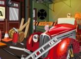 لعبة غرفة حريق الشاحنة  القديمة