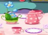 لعبة حفلة شاى مع صديقات أريل عروس البحر