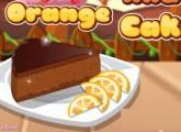 لعبة كيكة الشوكلاته والبرتقال الجديدة