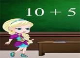 لعبة طفل انا والسا فى المدرسة