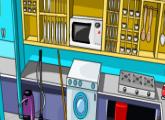لعبة تنظيف المطبخ وغسل الاطباق الحديثه