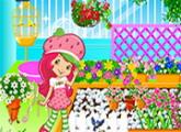 لعبة الفراولة بقلمي ديكور الحديقة بدون رابط