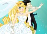 لعبة تلبيس عروس البحر ملابس الزفاف