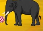 لعبة مغامرات الفيل فى السيرك
