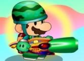 لعبة ماريو واطلاق النار الكثيف