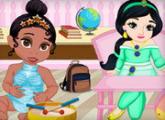 لعبة مدرسة طفل الأميرة