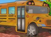 لعبة تنظيف بلدي حافلة المدرسة 2