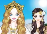 لعبة تلبيس الملكة اليونانية