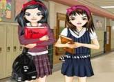 لعبة تلبيس بنات المدارس 2016