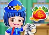 لعبة تلبيس بيبى هازل ملابس الشرطة 2016