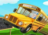 لعبة وقوف حافلة المدرسة الهائجه