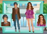 لعبة تحول الفتاة العادية لاميرة بالاستديو