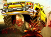 لعبة الزومبى على الطريق السريع