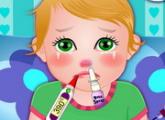 لعبة طفل جولييت والانفلونزا