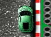 لعبة ركوب السيارة الخضراء