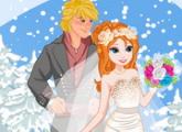لعبة زفاف آنا وفصل الشتاء