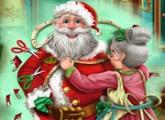 لعبة خياط سانتا  عيد الميلاد