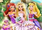 لعبة رابونزيل ترتيب حفل زفاف برابط مباشر