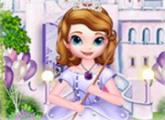 لعبة حفلة صوفيا و تنظيف القلعة