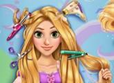 لعبة تصفيف وقص شعر الاميرة ربانزيل