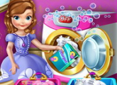 لعبة يوم الغسيل الأميرة صوفيا
