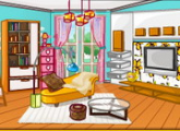 لعبة ديكور غرفة جرلي 2