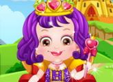 لعبة تلبيس بيبى هازل الملكة