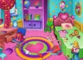 لعبة ترتيب وتنظيف غرفة النوم و الفتاة المرتبة