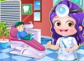 لعبة تلبيس بييبى هازل طبيب الأسنان