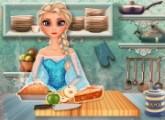 لعبة رابونزيل وصفة فطيرة التفاح