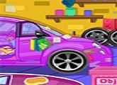 لعبة تنظيف السيارات المتسخة
