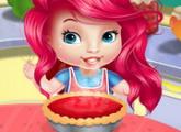 لعبة طفل أريل وحلوى الجبن