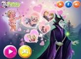 لعبة عيد الحب وملكة الشر