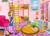 لعبة ترتيب وتنظيف المنزل والغرف للبنات فقط