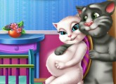 لعبة العناية بانجيلا الحامل