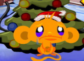 لعبة القرد والذهاب الى شجرة الميلاد