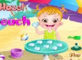 لعبة بيبى هازل فى الشاطئ